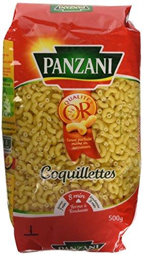 Panzani Pâtes Coquillettes 500 g - Lot de 6