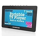 LEADSTAR 7 Inch Portable Small Digital DVB-T2 DVB-T TFT HD Screen Freeview LED