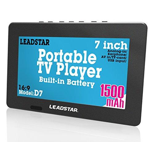 7Inch portátil pequeño LED TV Digital DVB-T Coche