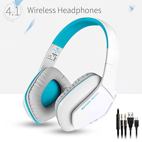 KOTION-EACH-Auriculares-Bluetooth-Estreo-Inalmbricos-Plegables-con-Conexin-de-Cable-B3506-Micrfono-manos-libres-Gaming-Headset-V41-con-Micrfono-para-Iphone7-7S-Plus-6-6S-6S-Plus-Samsung-Smartphones-An
