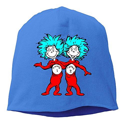 minloo L da uomo e da donna designname travellingcap cenere maglia per autunno e inverno Royalblue Taglia unica