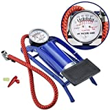 #2: cherry Foot Air Pump Heavy Compressor Cylinder Bike,Car,Cycles,& all other vehicles Air Pump