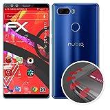 atFolix Schutzfolie passend für ZTE Nubia Z17S Folie, entspiegelnde & Flexible FX Bildschirmschutzfolie (3er Set)