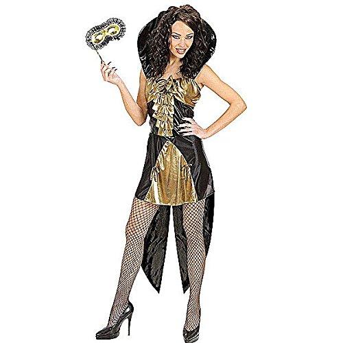 Kostüm Gothic Queen, gold, Größe (Halloween Minute Kostüme Frauen Für Last)