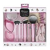 Real Techniques Limited Edition Make-up-Pinsel-Set für das gesamte Gesicht, mit Clutch, Haarband und Kompaktspiegel
