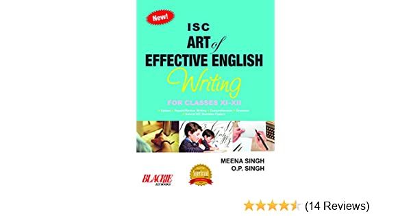 Amazonin Buy Isc Art Of Effective English Writing For Classes Xi