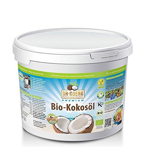 DR. GOERG PREMIUM COCONUT PRODUCTS Kokosöl Dr. Goerg Premium Bio-Kokosöl - 3000 ml im Test