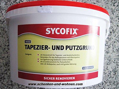 SYCOFIX Tapezier- und Putzgrund LF weiß (für innen) (5 Liter)