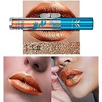 FGVBHTR Lipstick Long Lasting Lip Stick Cosmetics Makeup Impermeable Lipstick Lip Gloss