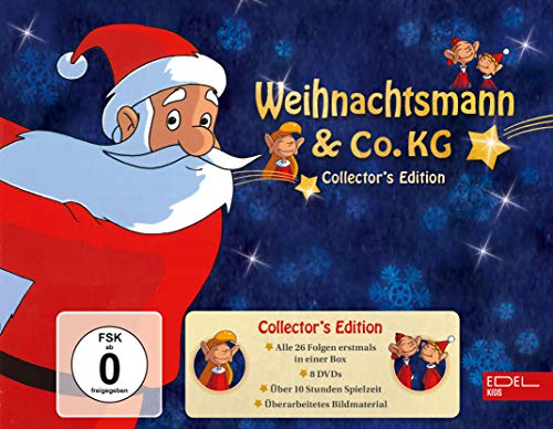 Weihnachtsmann & Co. KG - Collector\'s Edition (8 DVDs) - Alle 26 Folgen in einer Box