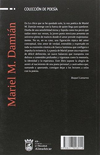 LA CHICA QUE SE HA QUEDADO SOLA (Colección de poesía)