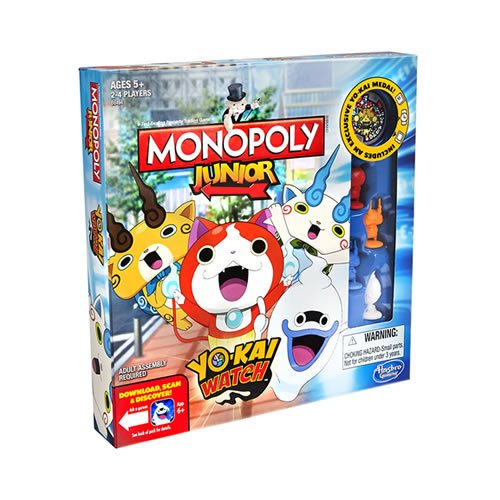 Monopoly Junior Yo-kai Watch Edition jouet