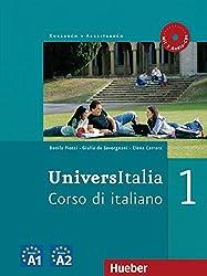 UniversItalia 1: Corso di italiano / Kurs- und Arbeitsbuch mit 2 Audio-CDs