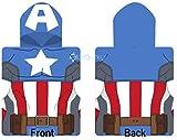 Disney Marvel Avengers Captain America Poncho Kapuzentuch