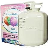 Helium Ballongas 420 Liter XXL Einwegflasche für Ballons aus Latex oder Folienballons. Versand von Haus der Herzen