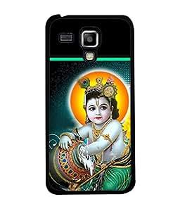 PrintVisa Designer Back Case Cover for Samsung Galaxy S Duos S7582 (bal krishan makhan chor leela)