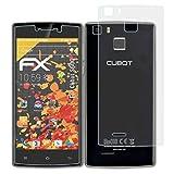 atFolix Schutzfolie für Cubot S600 Displayschutzfolie - 3er Set FX-Antireflex blendfreie Folie