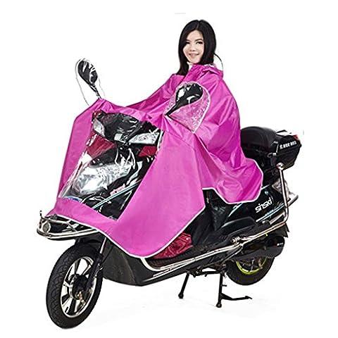 Veste De Pluie Moto - BXT Manteau de Pluie Mode Imperméable Cape