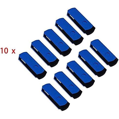 FEBNISCTE 100 pezzi 512MB (Non 512GB)Blu USB 2.0 Pen
