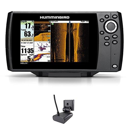 Humminbird Helix 7 SI GPS Side Imaging Echolot Seekartenplotter Combo Festmontage