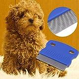 UEETEK 1 Stk Haustier Hund Reinigung Kamm Hund Katze floh Pflege Pinsel-Werkzeug (zufällige Farbe) Vergleich