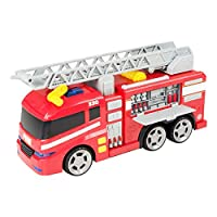 Teamsterz Large Light & Sound Fire Engine | Kids Emergency Toy Vehicle Fire Truck Great For Children Aged 3+