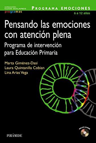 Pensando las emociones con atención plena (Ojos Solares - Programas) por Marta Giménez-Dasí