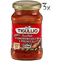3x Star Tigullio GranPesto Sundried Tomato Pesto Sauce for Pasta 190g Ready to Eat!