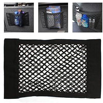Tape Auto Sitz Rückseite Aufbewahrung stark Magic Mesh Net Tasche 40cm * 25cm Gepäck Halter Pocket Aufkleber von ASTrade bei Du und dein Garten