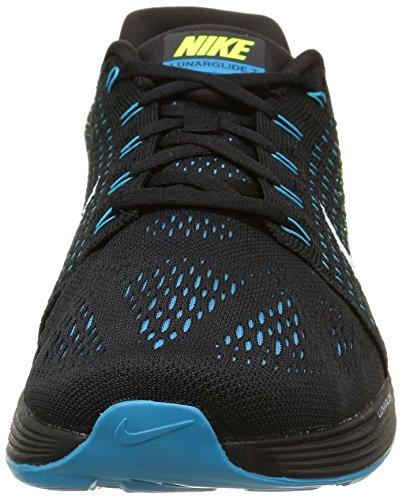 Branco preto De Preta Lagoa 7 Dos Branco Sapatos Nike Corrida Homens Verde Volts Azul azul Lunarglide wPqaBxv