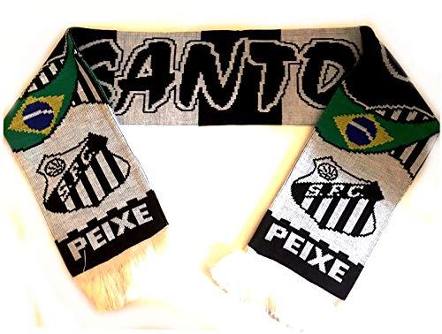 FC Santos Brasilien Schal Fanschal Fussball Schal (Santa Schal)