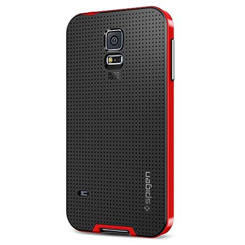 c0150fbc581 spigen Protective Case - Carcasa para Samsung Galaxy S5, Negro y Rojo  (B00I3UWHFA) | seguidor de precio Amazon/ gráficas del historial de precios  de Amazon/ ...