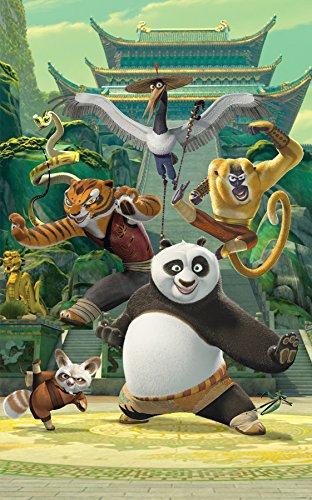 Walltastic Affiche murale Kung Fu Panda 43107 - 2.4 x 1.5m
