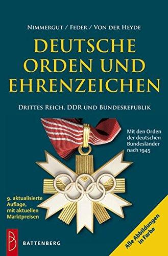 Deutsche Orden und Ehrenzeichen: 1933 - heute (Band 2)