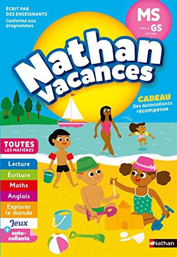 Cahier de Vacances 2018 de la Moyenne Section vers la Grande Section - maternelle 4/5 ans par Sandrine Guilloré-Chotard