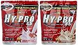 All stars Hy-Pro 85 Beutel 2er Mix Pack (2 x 500 g) Erdbeere/Cinamon-Oatmeal, 1er Pack (1 x 1 kg)