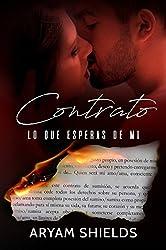 Contrato: Lo que esperas de mi (Spanish Edition)