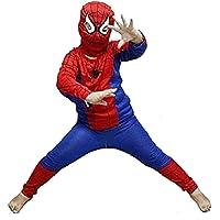 Alice Emporium Superhero Spider-Boy Costume Dress for Kids Boys (2-8 Years)