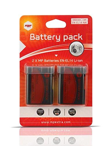 2 x Batería MP EXTRA ® EN EL 14