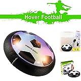 Air Hover Ball - Juguete Balón de Fútbol Flotante, Pelota con Suspensión de Aire y Luces LED