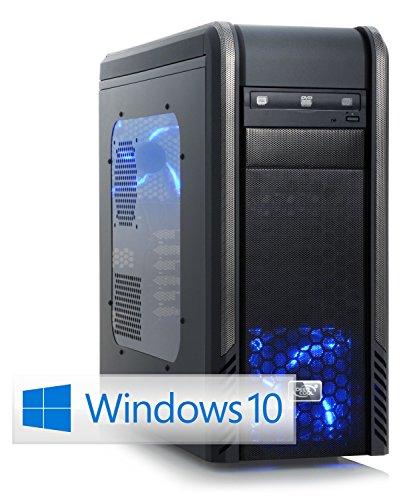 CSL Speed X4838 (Core i7) Skylake inkl. Windows 10 - Intel Core i7-6700K 4x 4000 MHz, 16 GB DDR4 RAM, 275GB SSD, 1000GB HDD, GeForce GTX 1060, DVD, USB 3.0