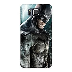 Premier Knight Force Designer Back Case Cover for Galaxy Alpha