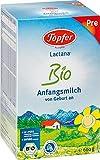 Töpfer Lactana Bio Anfangsmilch PRE von Geburt an, 4er Pack (4 x 600 g)