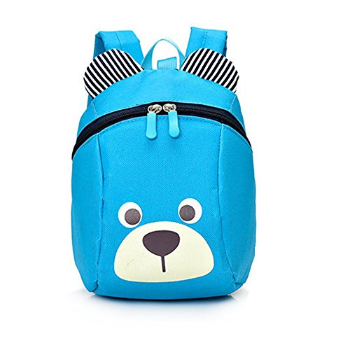 Imagen de dafenq linda bear bebé  infantil guarderia niños escuela  con seguridad riendas belt azul