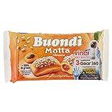 Motta Buondi Albicocca, Lievitato Naturalmente - Pacco da 6 x 43 gr - Totale: 258 gr