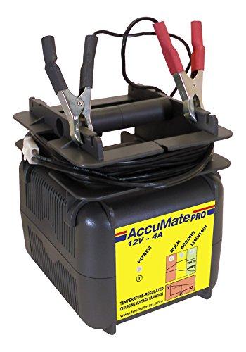TecMate OptiMATE PRO TM200, Professionelles 12V Automatikladegerät für Batterien für Kfz, Boote und Hobby - europäischer Stecker VDE (1 7-amp-1/2)