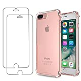 E-Mandala Housse Coque iPhone 7 Plus 8 Plus Anti Choc Transparent Silicone Ultra Fine...
