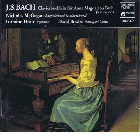 Bach : Le Petit livre d'Anna Magdalena [Import anglais]