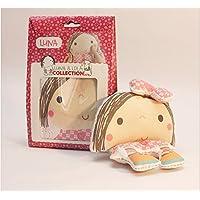 Kit para hacer Muñeca de trapo LUNA- 25 cm. Familia Luna & Lola -