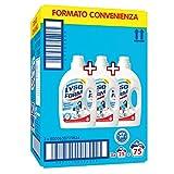 Lysoform Detersivo Igienizzante per Bucato, Detersivo Classico 25 Lavaggi X3